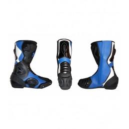 Botas de supermotard azules