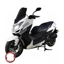 Moto Malcor MCT 125 Blanca